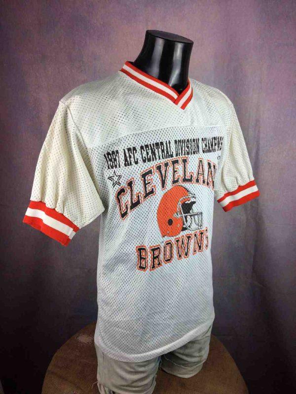 CLEVELAND BROWNS Jersey Vintage 1987 USA Gabba Vintage 3 resultat - CLEVELAND BROWNS Maillot Vintage 1987 USA