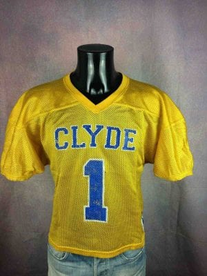 CLYDE Maillot Vintage 80s Made in USA #1 - Gabba Vintage