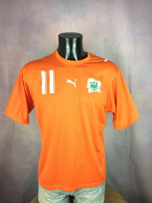 COTE D'IVOIRE Jersey #11 Drogba Home 2006 2007 - Gabba...