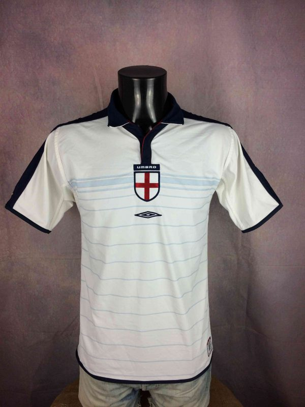 ENGLAND Jersey Maillot Reversible Home 2004 - Gabba Vintage