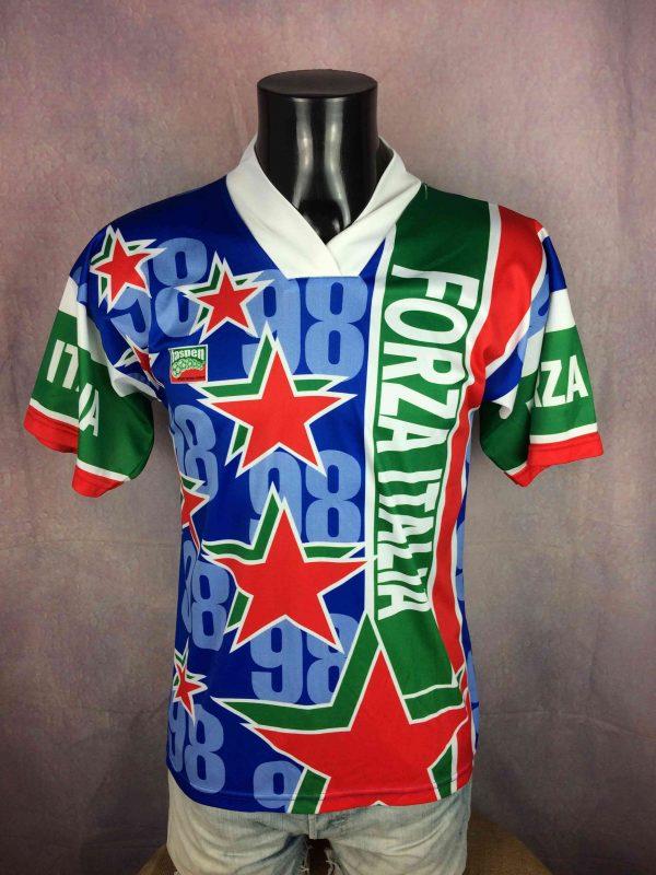 FORZA ITALIA Jersey World Cup 1998 Vintage - Gabba Vintage