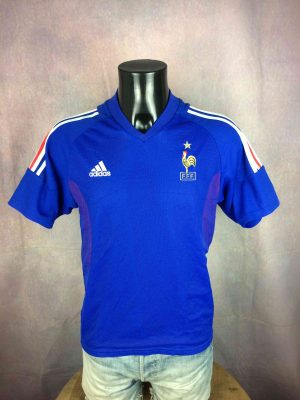 FRANCE Jersey Home 2002 Zidane World Cup FFF - Gabba Vintage