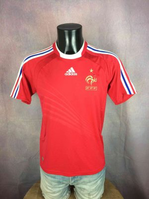 FRANCE Jersey Maillot Away 2008 2009 Adidas - Gabba Vintage
