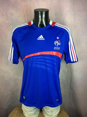FRANCE Jersey Maillot Home 2007 2008 FFF - Gabba Vintage