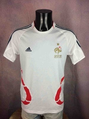 FRANCE Jersey Maillot Training 2008 Euro FFF - Gabba Vintage