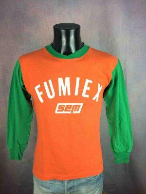 FUMIEX Sem Jersey True Vintage 80s Porté - Gabba Vintage