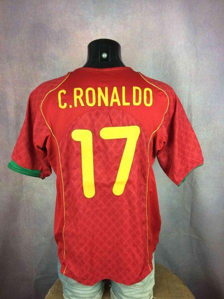 PORTUGAL Jersey Ronaldo #17 Home 2004 2006 Nike - Gabba...