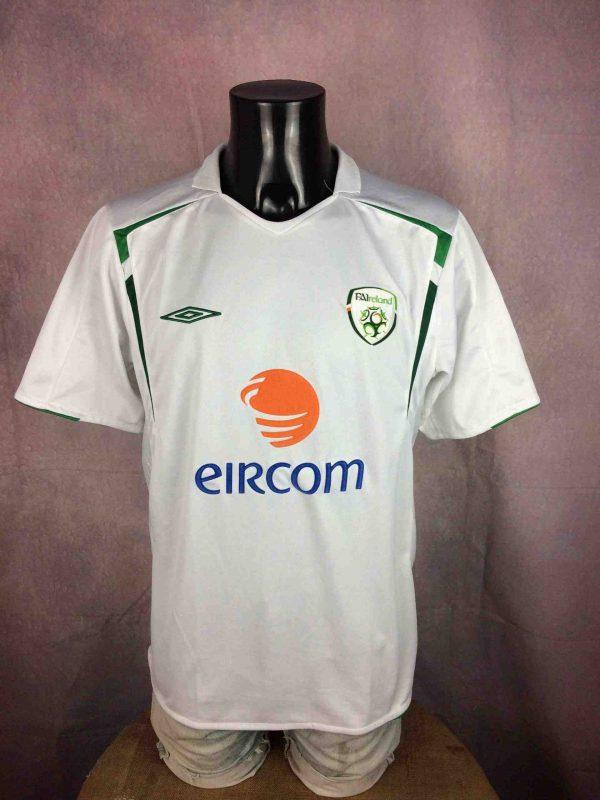 IRELAND Jersey Away 2005 2006 Umbro FAI Eire - Gabba Vintage