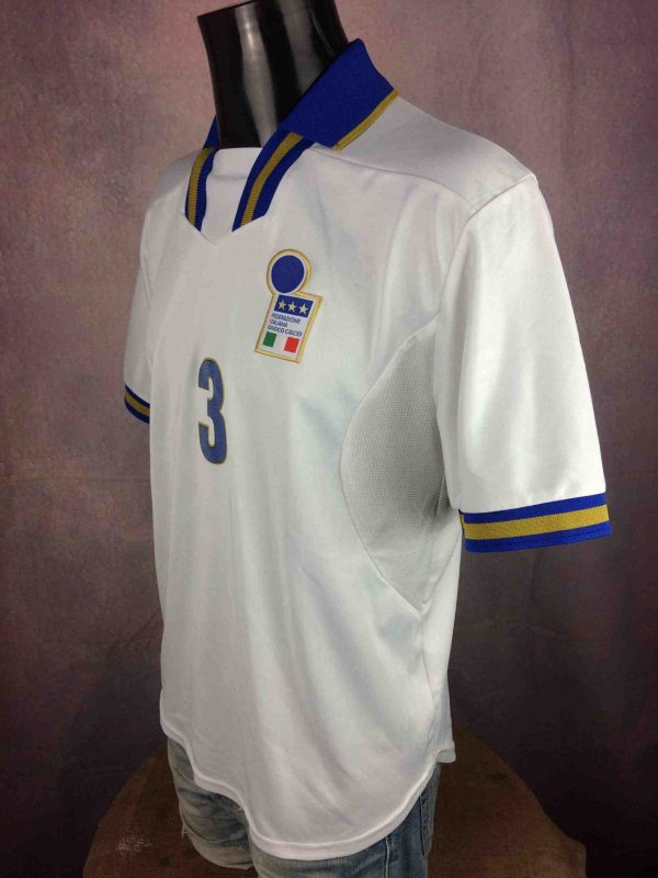 ITALIA Jersey Vintage 1996 Player Issue Maldini Gabba Vintage 3 scaled - ITALIA Jersey Vintage 1996 Player Issue Maldini
