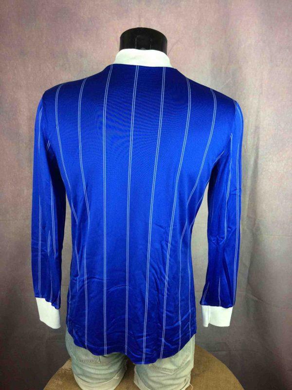 LE COQ SPORTIF Maillot Vintage 80s Glanz Gabba Vintage 4 scaled - LE COQ SPORTIF Maillot Vintage 80s Glanz Blue