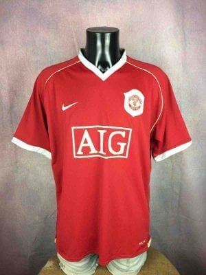 MANCHESTER UNITED Jersey 2006 2007 Home Nike - Gabba Vintage