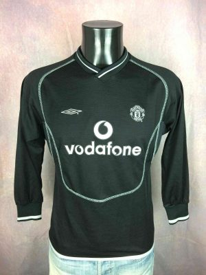 MANCHESTER UNITED Jersey Goal 2000 2002 Umbro - Gabba Vintage
