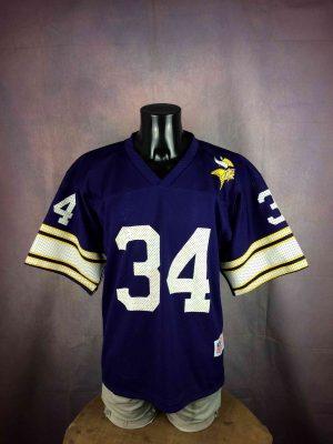 MINNESOTA VIKINGS Maillot Vintage 1990 NFL - Gabba Vintage