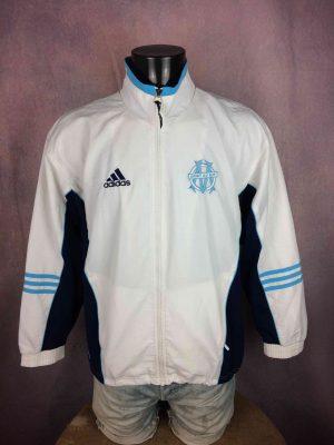 OM Jacket 1999 2000 Vintage Adidas Marseille - Gabba Vintage