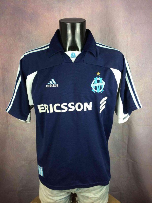 OM Maillot 1999 2000 Away Marseille Adidas - Gabba Vintage
