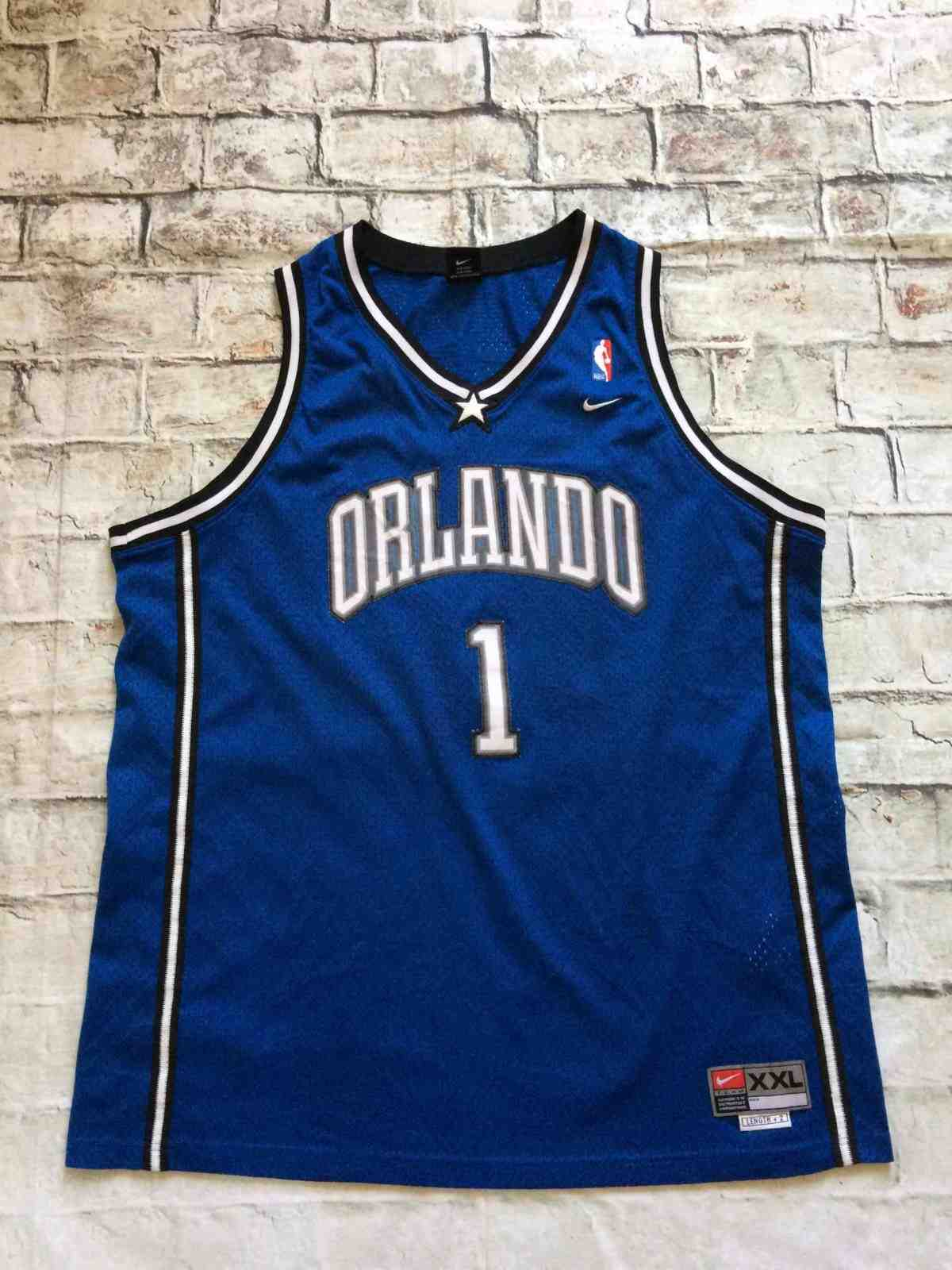 ORLANDO MAGIC Jersey Vintage #1 McGRADY Nike - Gabba