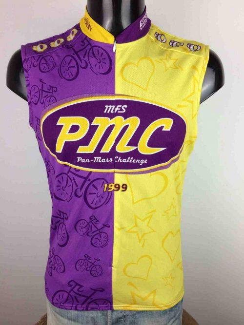 MaillotPAN MASS CHALLENGE, Véritable vintage 90s, édition 1999, de marque Pearl Izumi, Made in USA, Vélo Cyclisme Cycling Jersey