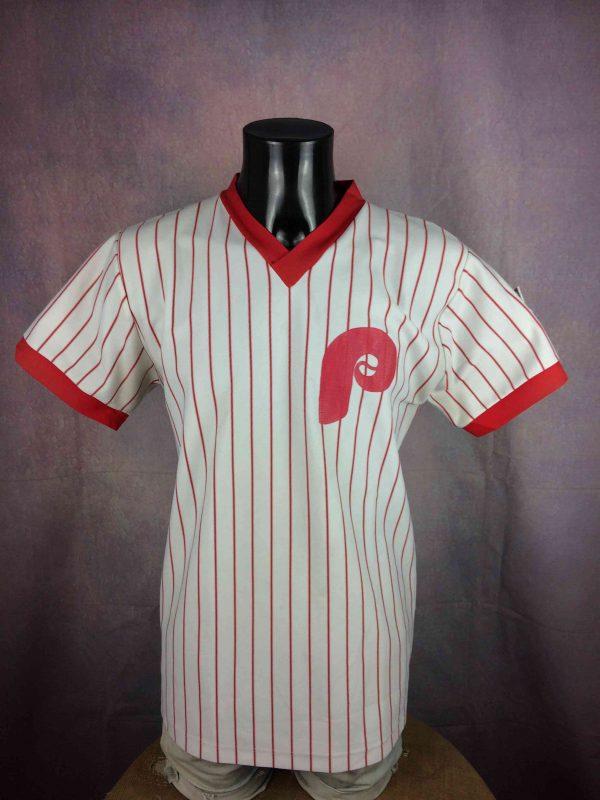 PHILADELPHIA PHILLIES Jersey Vintage 80s USA - Gabba Vintage