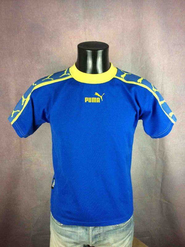 PUMA Jersey Maillot Vintage 90s Old School - Gabba Vintage