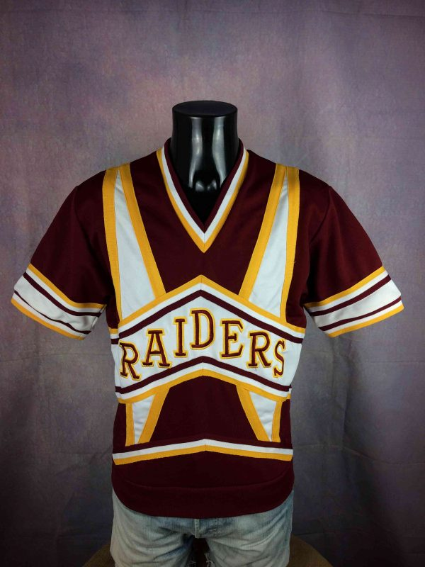 RAIDERS Maillot Vintage 80s Made in USA LA - Gabba Vintage