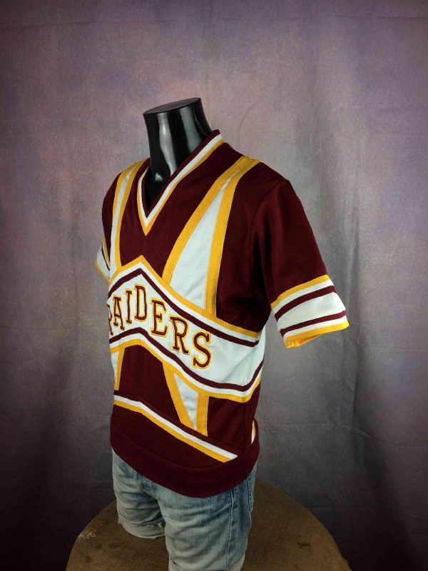 RAIDERS Maillot Vintage 80s Made in USA LA Gabba Vintage 3 - RAIDERS Maillot Vintage 80s Made in USA LA