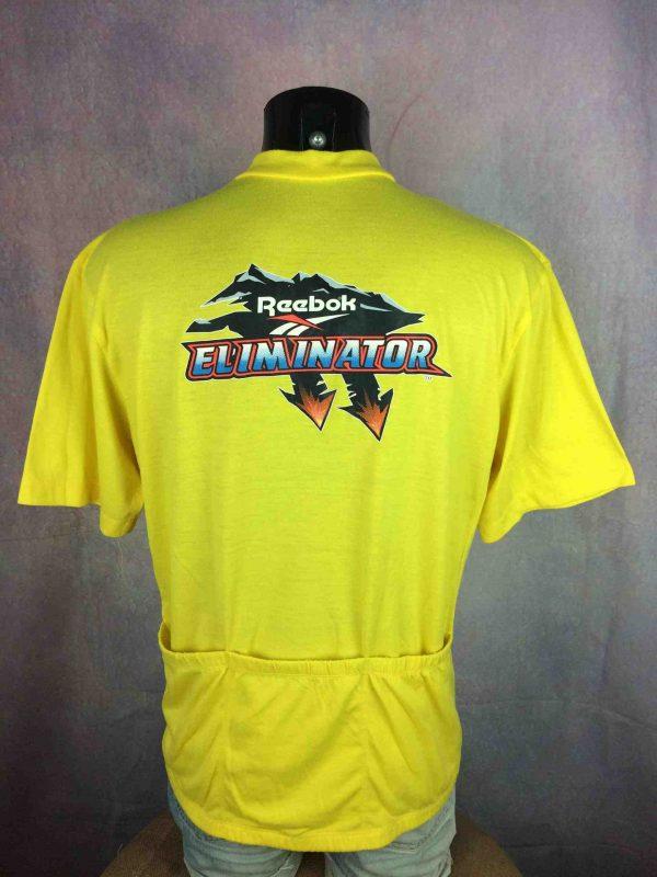REEBOK Eliminator Maillot Vintage 90s Yellow - Gabba Vintage