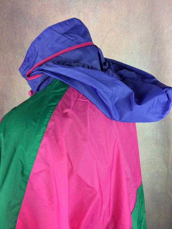 RODEO Rain Jacket Veste Nylon Vintage 90s Gabba Vintage 1 scaled - RODEO Rain Jacket Veste Nylon Vintage 90s