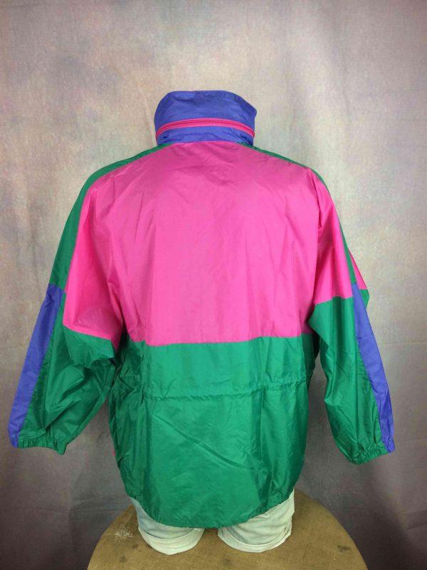 RODEO Rain Jacket Veste Nylon Vintage 90s Gabba Vintage 2 scaled - RODEO Rain Jacket Veste Nylon Vintage 90s