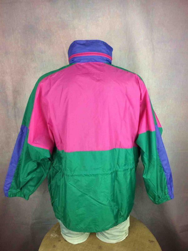 RODEO Rain Jacket Veste Nylon Vintage 90s Gabba Vintage 2 scaled - RODEO Veste Impermeable Vintage 90s Nylon