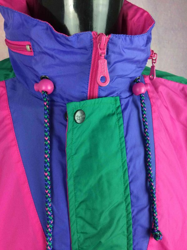 RODEO Rain Jacket Veste Nylon Vintage 90s Gabba Vintage 6 scaled - RODEO Rain Jacket Veste Nylon Vintage 90s