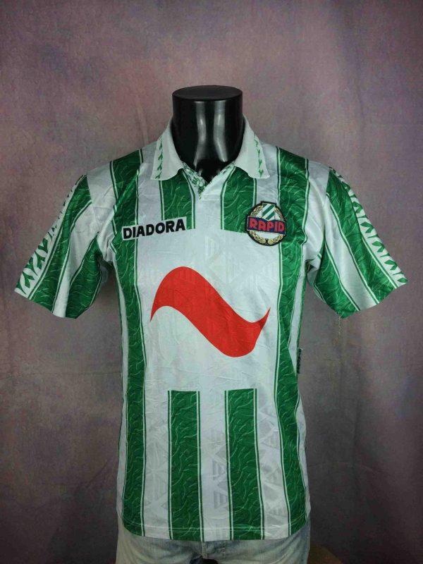 SK RAPID WIEN Jersey Home 1994 1995 Diadora - Gabba Vintage