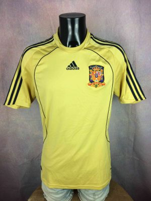SPAIN Jersey Away 2008 2010 Adidas Euro Cup - Gabba Vintage