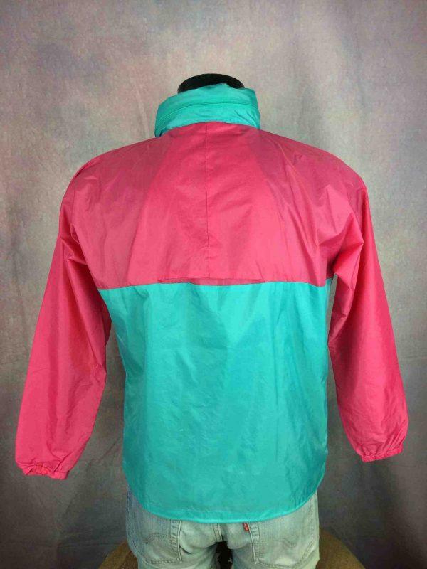 VINTAGE 90s Jacket Veste Waterproof KWay Gabba Vintage 5 scaled - Veste Impermeable Vintage 90s Nylon Unisex