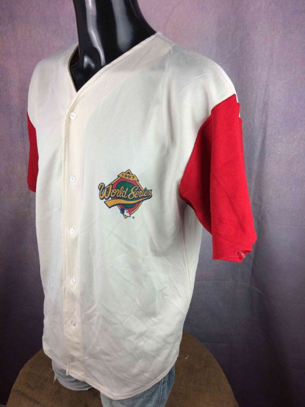 WORLD SERIES 1997 Jersey Vintage Made in USA Gabba Vintage 2 resultat - WORLD SERIES 1997 Maillot Vintage Made in USA