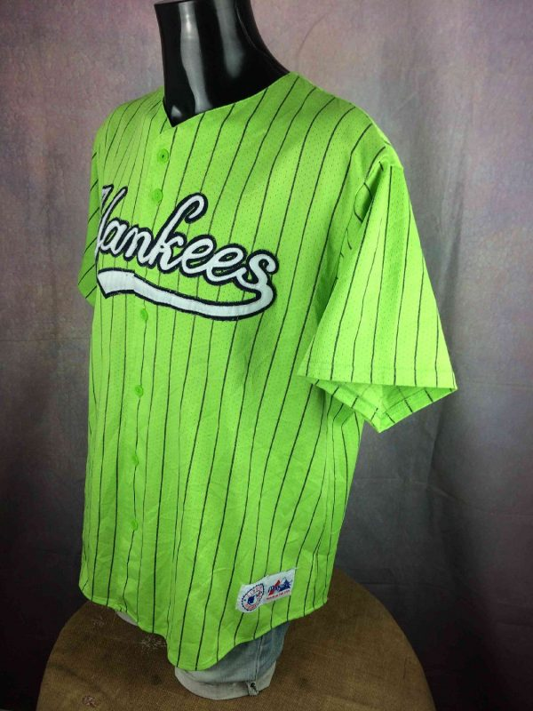 YANKEES Jersey Vintage 00s NY Made in USA Gabba Vintage 4 resultat - YANKEES Maillot Vintage 00s NY Made in USA