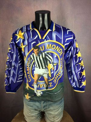 ZIDANE Jersey #10 Juventus Vintage 1998 FFF - Gabba Vintage