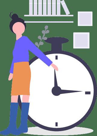 time landing - Landing Page