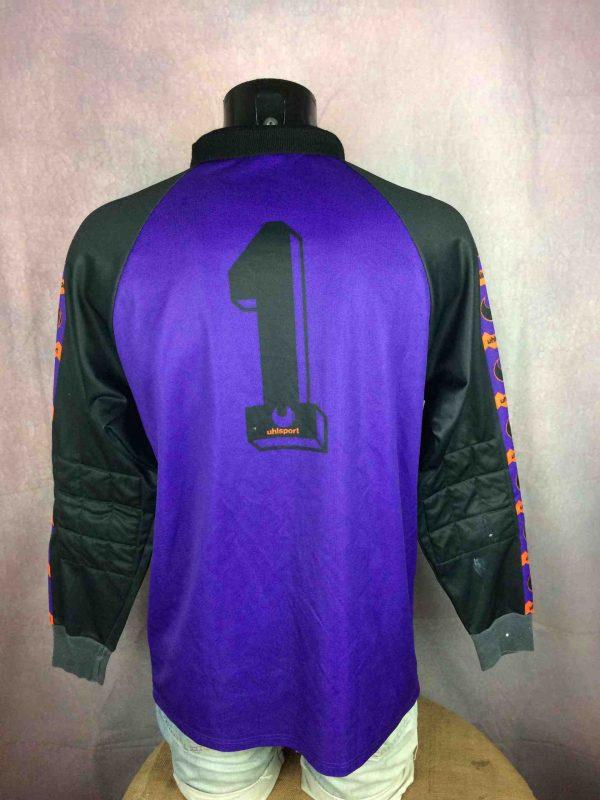 uhlsport jersey goalkeeper vintage 80s made in west germany Gabba Vintage 4 scaled - UHLSPORT Jersey Goal Vintage 80s West Germany