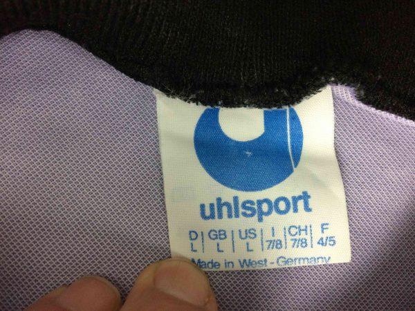 uhlsport jersey goalkeeper vintage 80s made in west germany Gabba Vintage 6 scaled - UHLSPORT Jersey Goal Vintage 80s West Germany