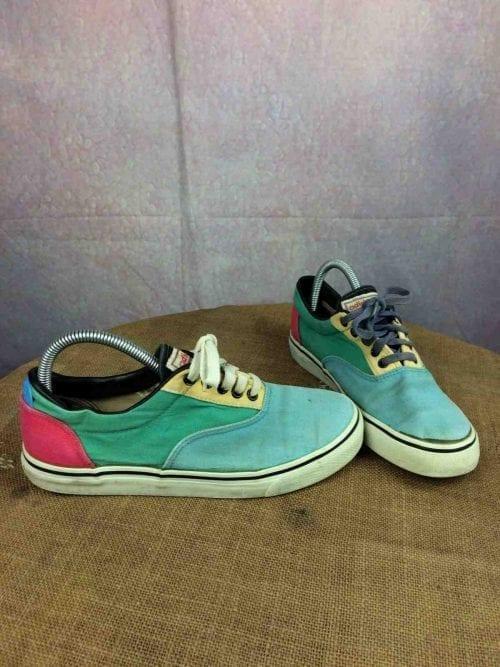 Sneakers ADIDAS, modèle Flash, Véritable vintage années 80s,Made in Rep Korea, Canvas Trainers EUR: 38