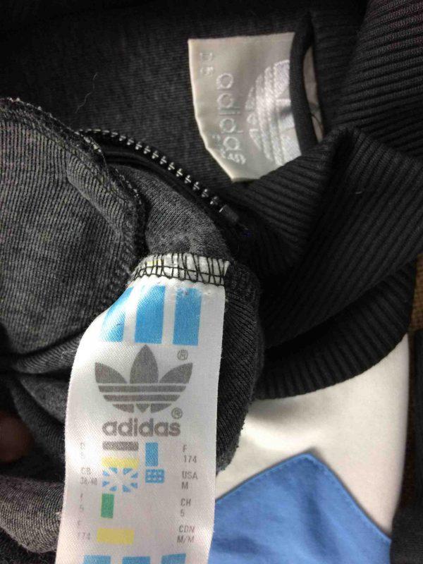 ADIDAS Jacket Vintage 90s 3 Stripes Design Gabba Vintage 1 scaled - ADIDAS Veste Vintage 90s  3 Stripes Design
