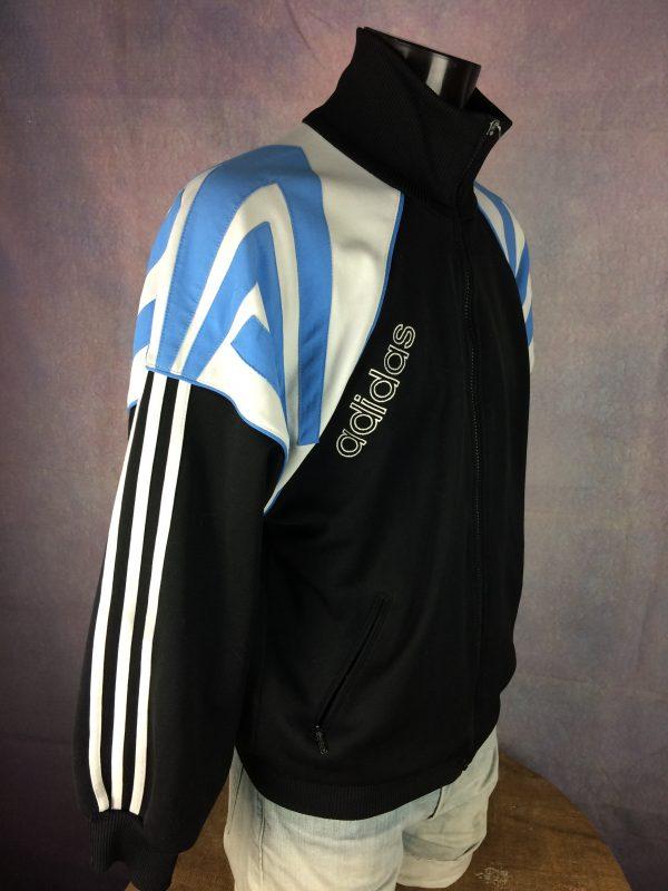 ADIDAS Jacket Vintage 90s 3 Stripes Design Gabba Vintage 6 scaled - ADIDAS Veste Vintage 90s  3 Stripes Design