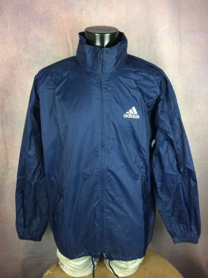 ADIDAS Rain Jacket Windbreaker Hood VTG 2000 - Gabba Vintage