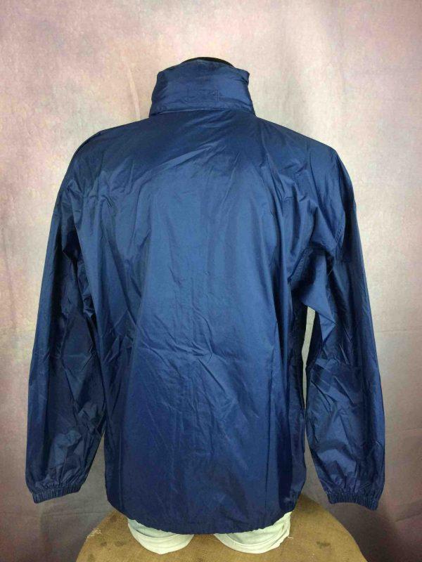ADIDAS Rain Jacket Windbreaker Hood VTG 2000 Gabba Vintage 6 compressed scaled - ADIDAS Veste Impermeable Vintage 2000 Sport