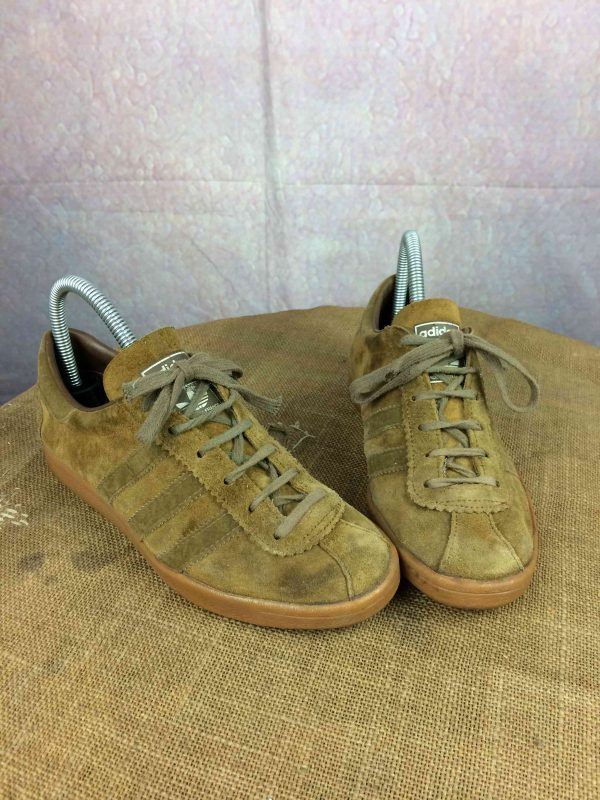 ADIDAS TOBACCO Vintage 80s Made In France F39 - Gabba...