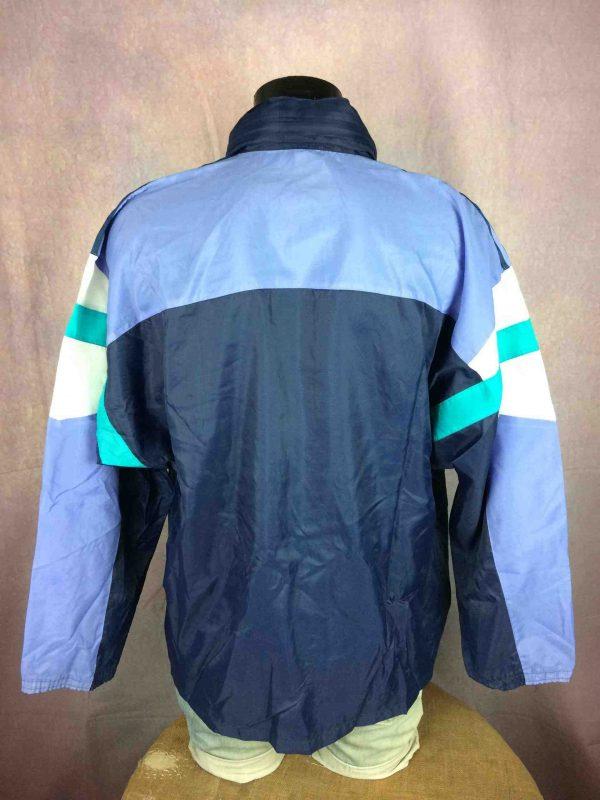 ADIDAS Windbreaker Jacket Nylon Vintage 90s Gabba Vintage 4 scaled - ADIDAS Veste Vintage 90s Windbreaker Nylon
