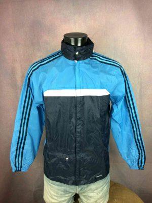 ADIDAS Windbreaker Jacket Ventex Vintage 80s - Gabba Vintage