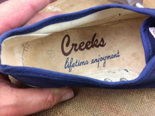 CREEKS Sneakers Vintage 80s Eur39 USWo7.5 Gabba Vintage 6 scaled - CREEKS Sneakers Vintage Années 80 EUR: 39