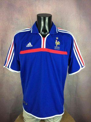 FRANCE Jersey Adidas 2000 2002 Home FFF Euro - Gabba Vintage