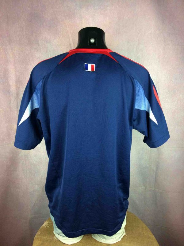 FRANCE Jersey Adidas Training 2003 2004 FFF Gabba Vintage 5 scaled - FRANCE Maillot Adidas Entrainement 2003 2004 FFF Football Euro